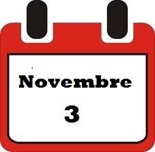 Novembre 3