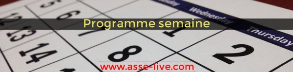 Programme Semaine