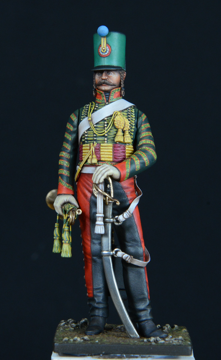 Trompette de Hussards du 7ème Régiment à Waterloo. - Page 3 1611060122073593414611001
