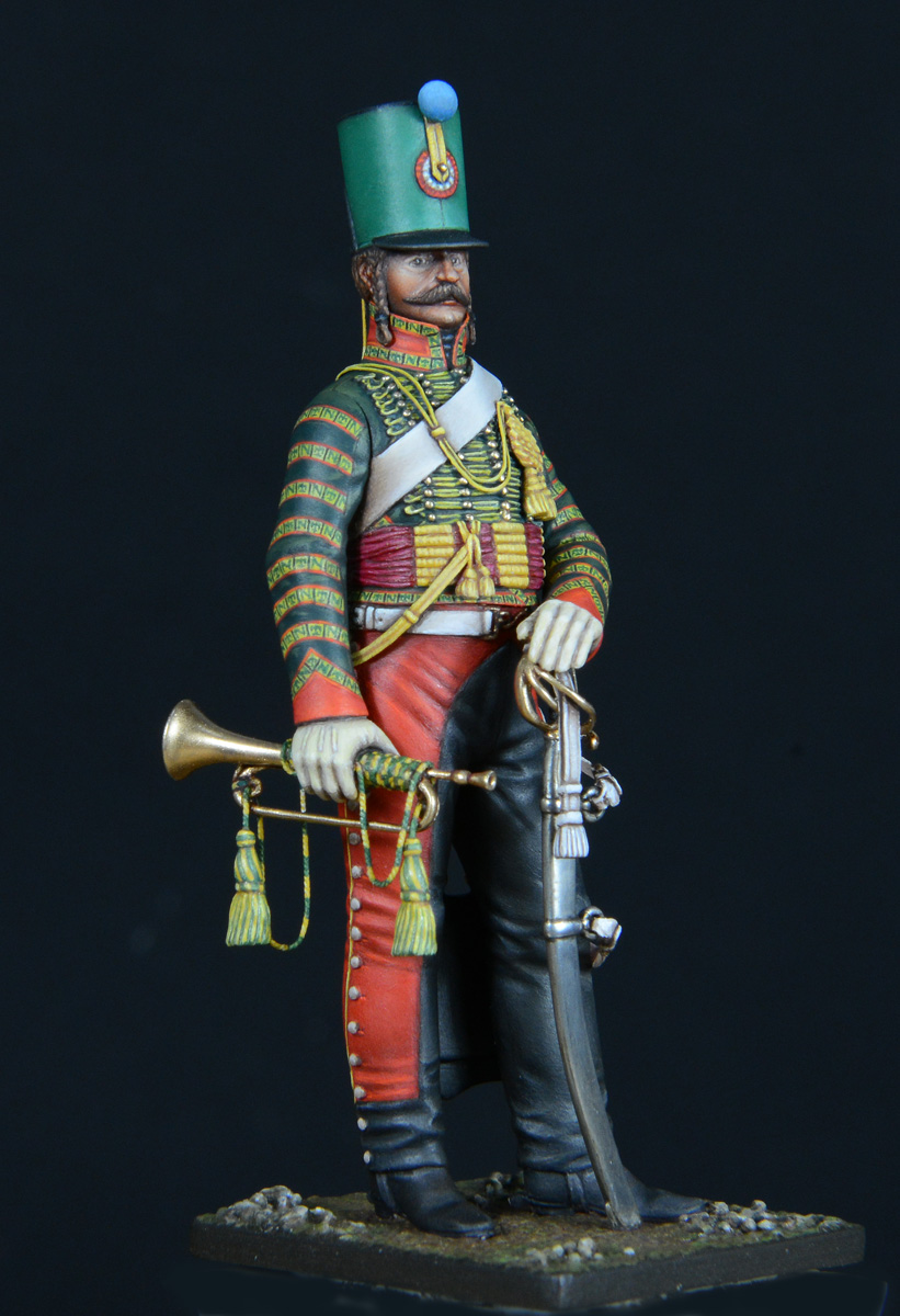 Trompette de Hussards du 7ème Régiment à Waterloo. - Page 3 1611060122103593414611002