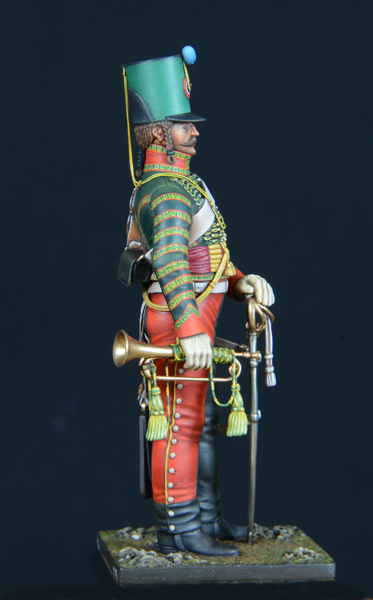 Trompette de Hussards du 7ème Régiment à Waterloo. - Page 3 1611060122123593414611003