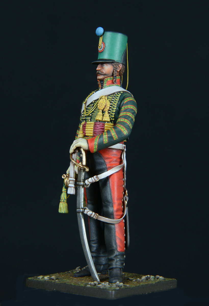 Trompette de Hussards du 7ème Régiment à Waterloo. - Page 3 1611060122223593414611008