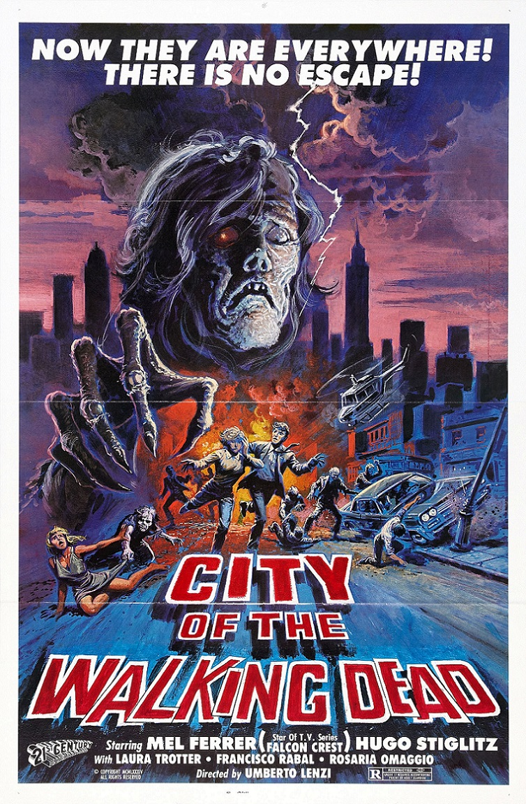 L'AFFICHE : CITY OF THE WALKING DEAD (1980) dans CINÉMA 16110607413315263614611144