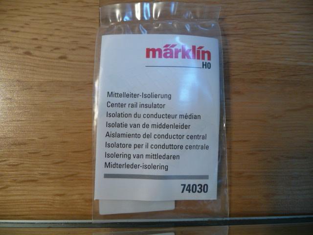 marklin trix voie c isolation de conducteur central h0 ref 74030 ebay. Black Bedroom Furniture Sets. Home Design Ideas