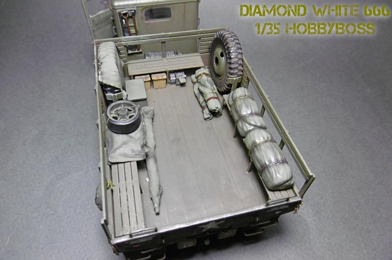 [ HOBBY BOSS 1/35 ] DIAMOND WHITE 666  16112004212521038614648640