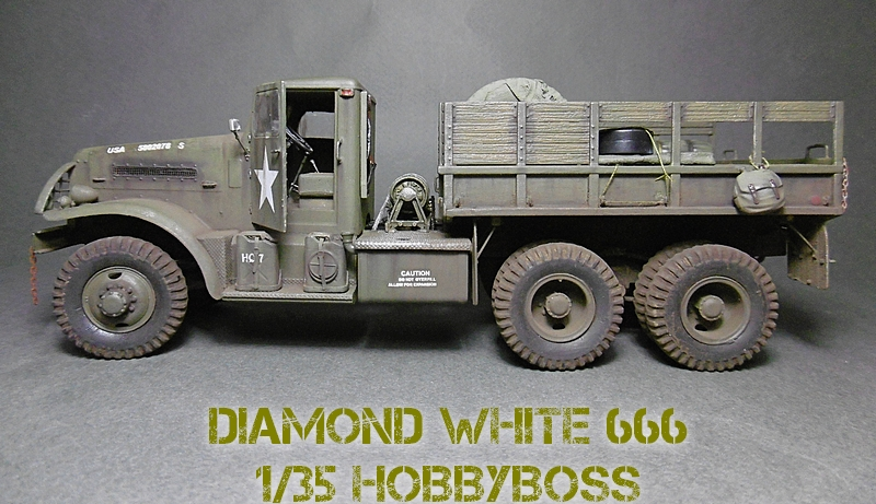[ HOBBY BOSS 1/35 ] DIAMOND WHITE 666  16112004213221038614648641