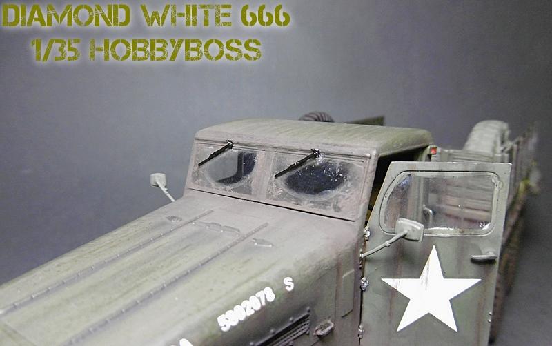 [ HOBBY BOSS 1/35 ] DIAMOND WHITE 666  16112004215721038614648643