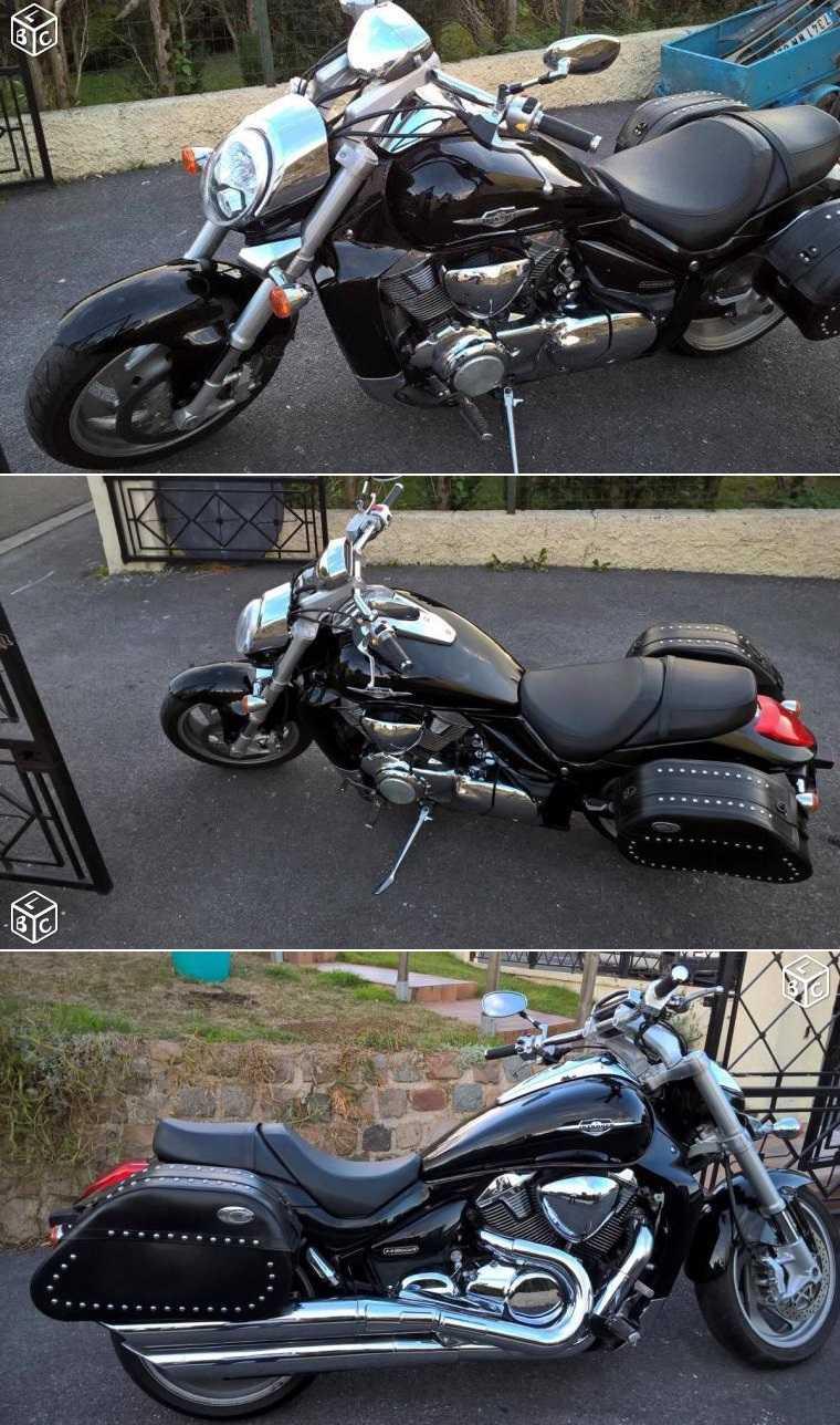 Suzuki VZR 1800 noire - Fresnoy-le-Grand (02230) 16120310295220259514678757