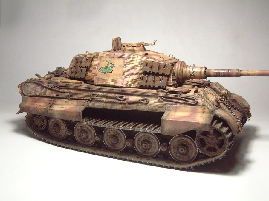 "Sdkfz-182 ""King Tiger"" - tourelle Henshel - 1/35e [Takom] 1612110433514769014700863"
