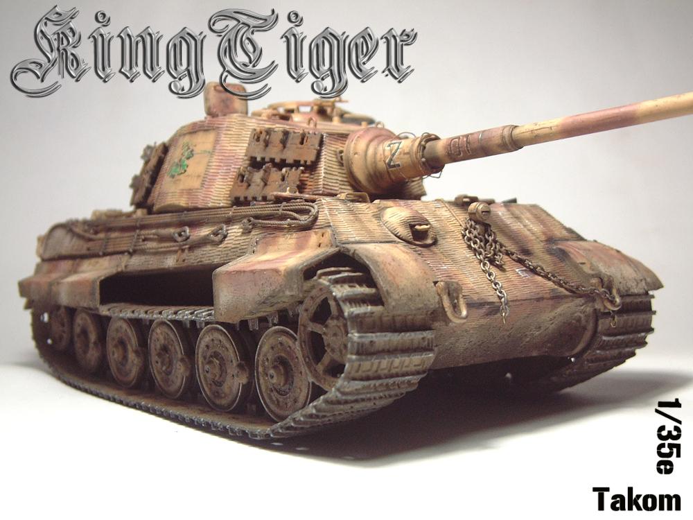 "Sdkfz-182 ""King Tiger"" - tourelle Henshel - 1/35e [Takom] 1612110433574769014700873"