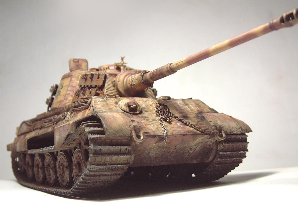 "Sdkfz-182 ""King Tiger"" - tourelle Henshel - 1/35e [Takom] 1612110434024769014700874"