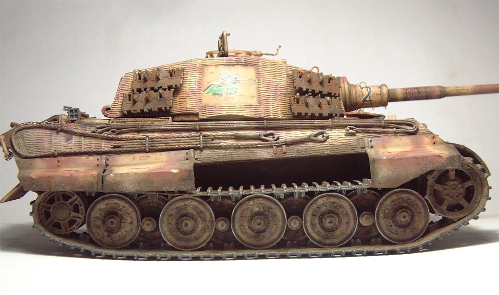 "Sdkfz-182 ""King Tiger"" - tourelle Henshel - 1/35e [Takom] 1612110434074769014700875"