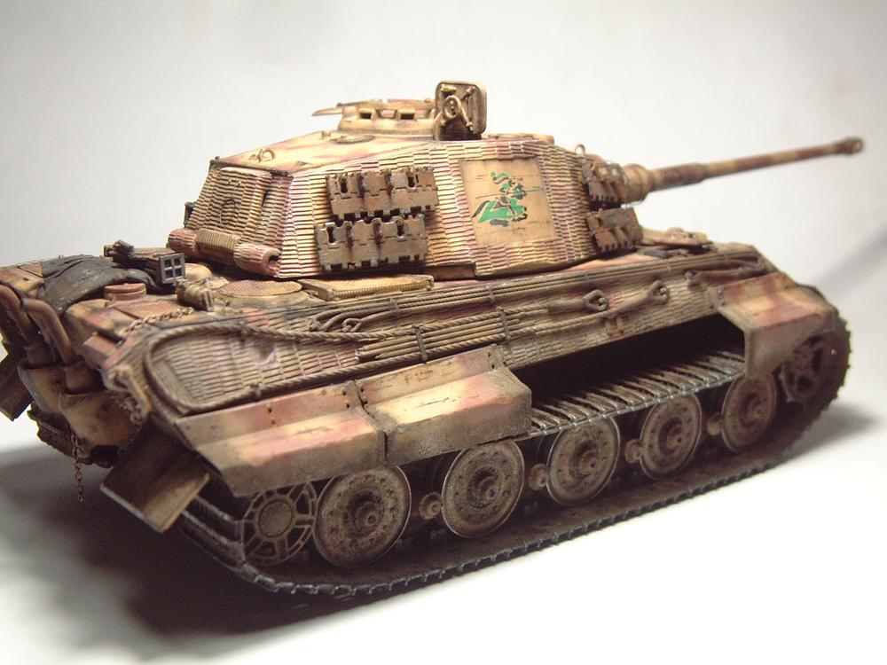 "Sdkfz-182 ""King Tiger"" - tourelle Henshel - 1/35e [Takom] 1612110434134769014700876"