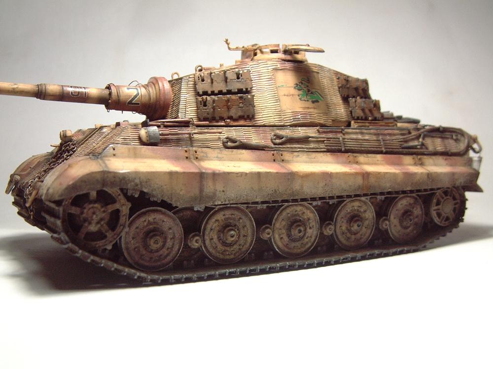 "Sdkfz-182 ""King Tiger"" - tourelle Henshel - 1/35e [Takom] 1612110434264769014700878"