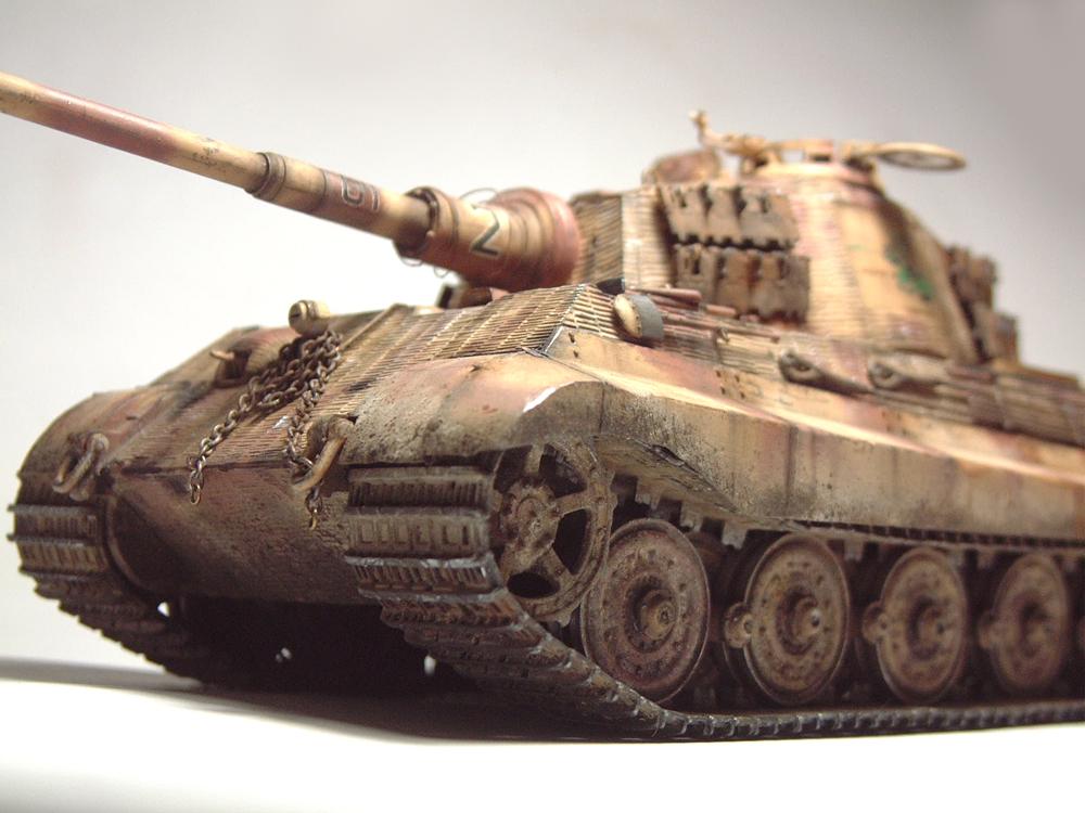"Sdkfz-182 ""King Tiger"" - tourelle Henshel - 1/35e [Takom] 1612110434324769014700879"