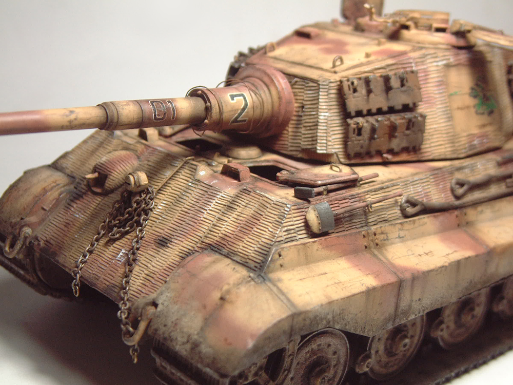 "Sdkfz-182 ""King Tiger"" - tourelle Henshel - 1/35e [Takom] 1612110434384769014700880"