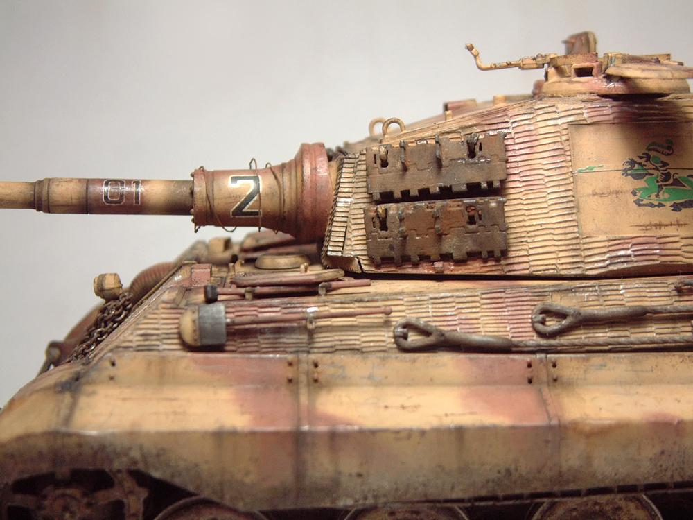 "Sdkfz-182 ""King Tiger"" - tourelle Henshel - 1/35e [Takom] 1612110434454769014700881"