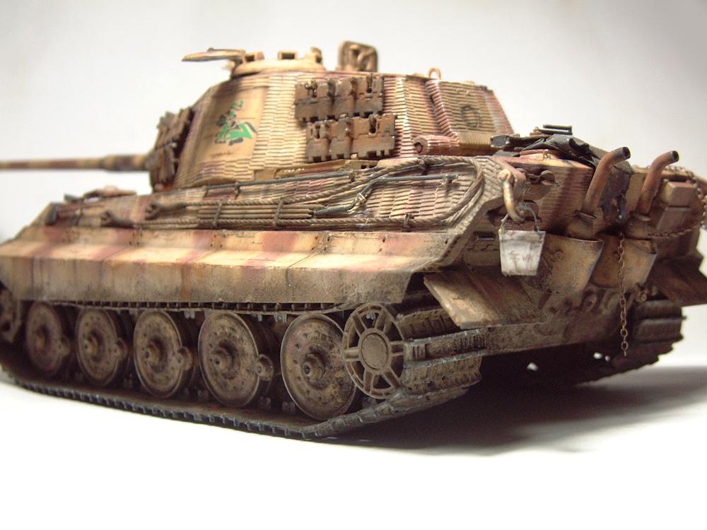 "Sdkfz-182 ""King Tiger"" - tourelle Henshel - 1/35e [Takom] 1612110434514769014700882"