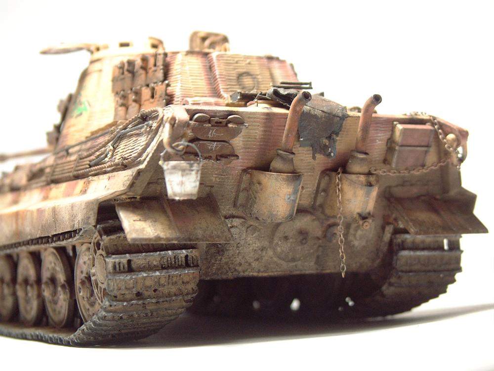 "Sdkfz-182 ""King Tiger"" - tourelle Henshel - 1/35e [Takom] 1612110434564769014700883"