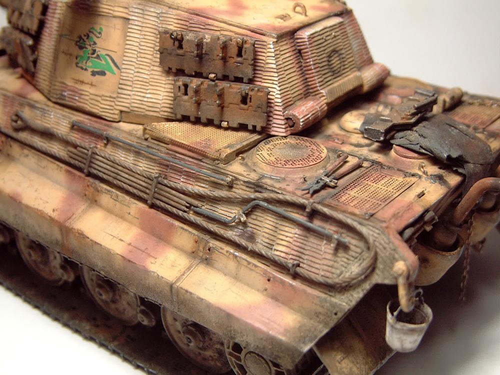 "Sdkfz-182 ""King Tiger"" - tourelle Henshel - 1/35e [Takom] 1612110435044769014700884"