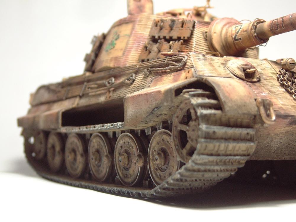 "Sdkfz-182 ""King Tiger"" - tourelle Henshel - 1/35e [Takom] 1612110435294769014700889"