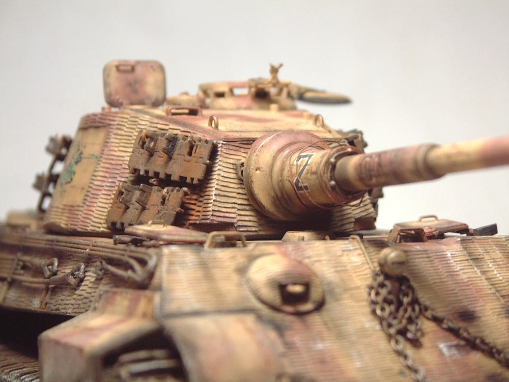 "Sdkfz-182 ""King Tiger"" - tourelle Henshel - 1/35e [Takom] 1612110435364769014700890"