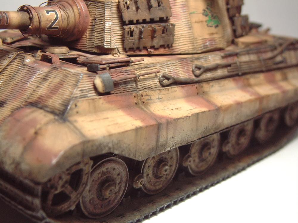 "Sdkfz-182 ""King Tiger"" - tourelle Henshel - 1/35e [Takom] 1612110435434769014700891"