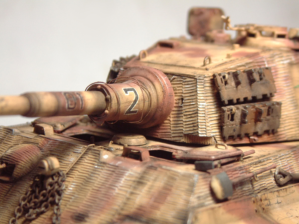 "Sdkfz-182 ""King Tiger"" - tourelle Henshel - 1/35e [Takom] 1612110435494769014700892"