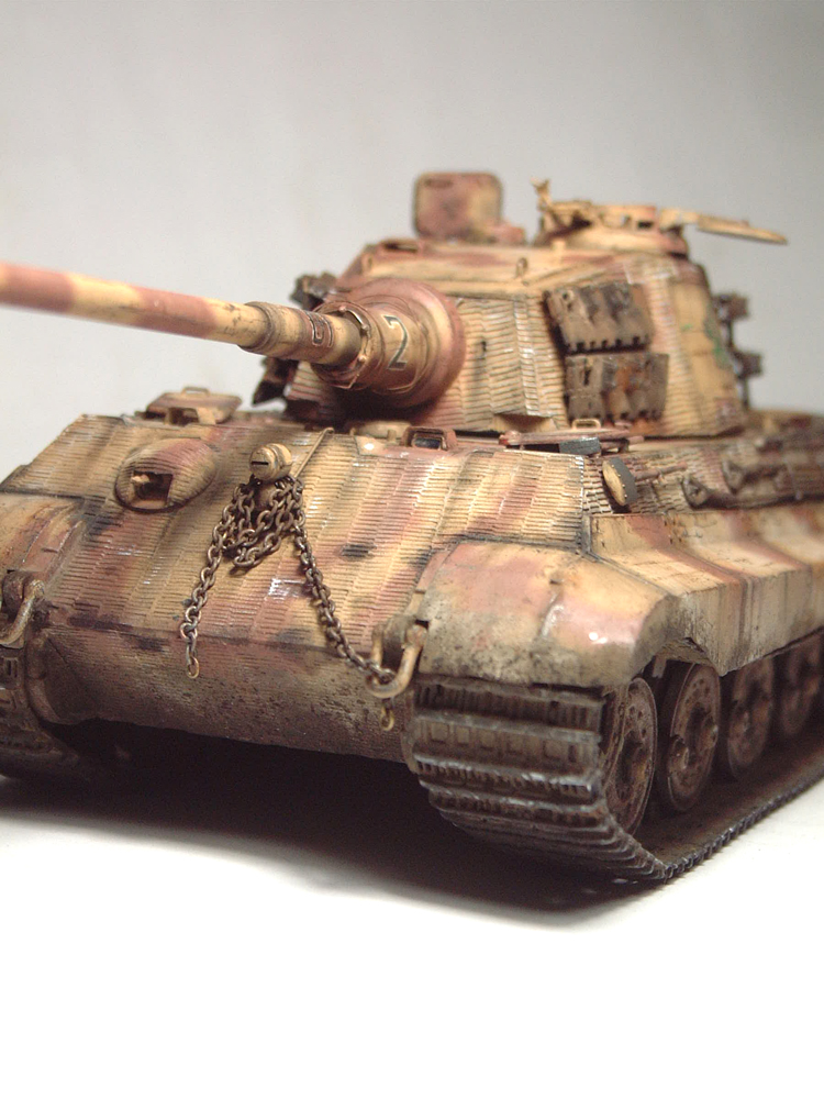 "Sdkfz-182 ""King Tiger"" - tourelle Henshel - 1/35e [Takom] 1612110435554769014700893"