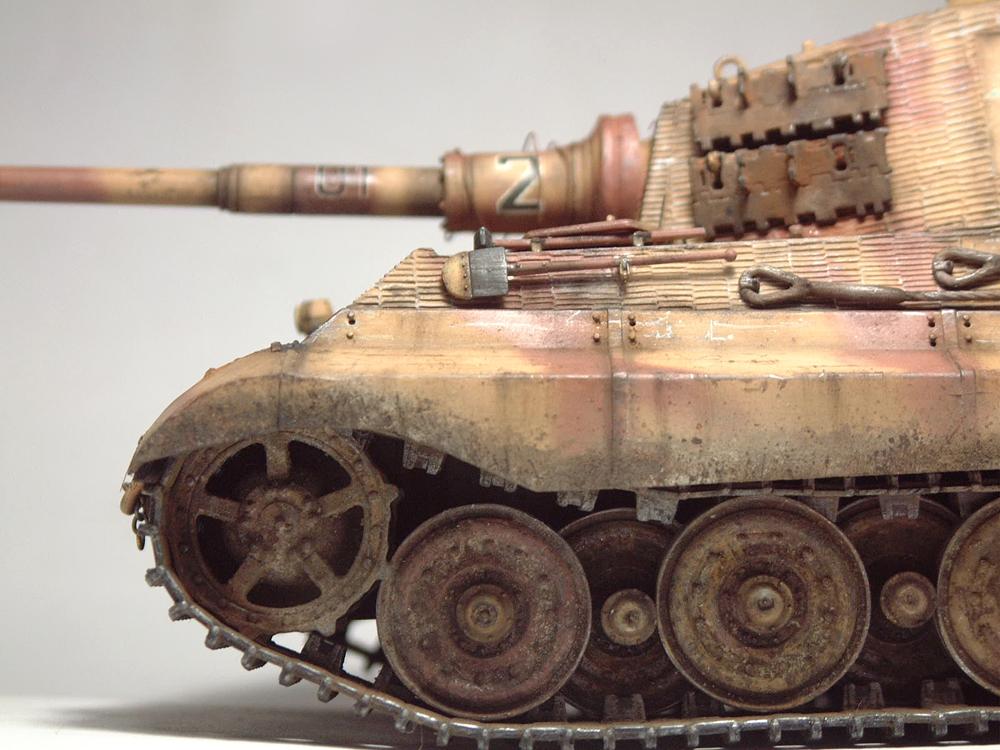 "Sdkfz-182 ""King Tiger"" - tourelle Henshel - 1/35e [Takom] 1612110436514769014700903"