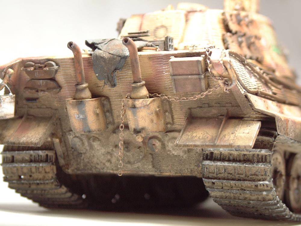 "Sdkfz-182 ""King Tiger"" - tourelle Henshel - 1/35e [Takom] 1612110437164769014700907"