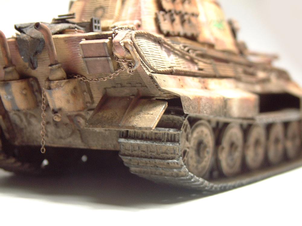 "Sdkfz-182 ""King Tiger"" - tourelle Henshel - 1/35e [Takom] 1612110437224769014700908"