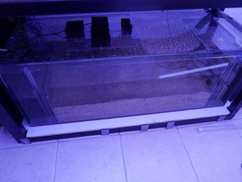 Aquarium 380 L total en système Jaubert déporté + ATS 16121210291613025714703973