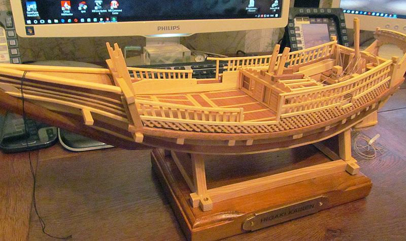 Construction d'un Higaki Kaisen - 1/72 - Scratch  - Page 4 16122107123918121214720394