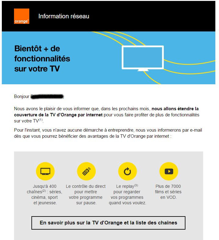 forum orange la tv d orange par internet arrive chez vous. Black Bedroom Furniture Sets. Home Design Ideas