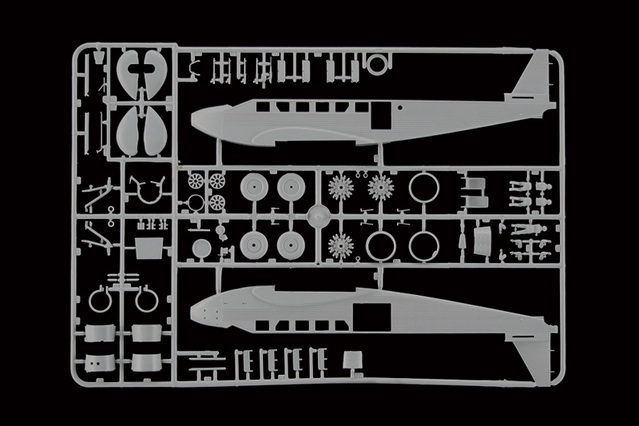 "Junkers Ju-52 ""Milka"" ( Italeri plus  décals Karaya et FFSMC au 1/72 )  17010101591910194414741687"