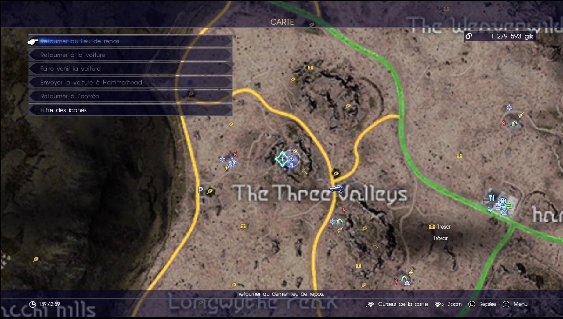 Final Fantasy XV compétences