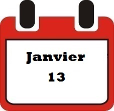 Janvier 13