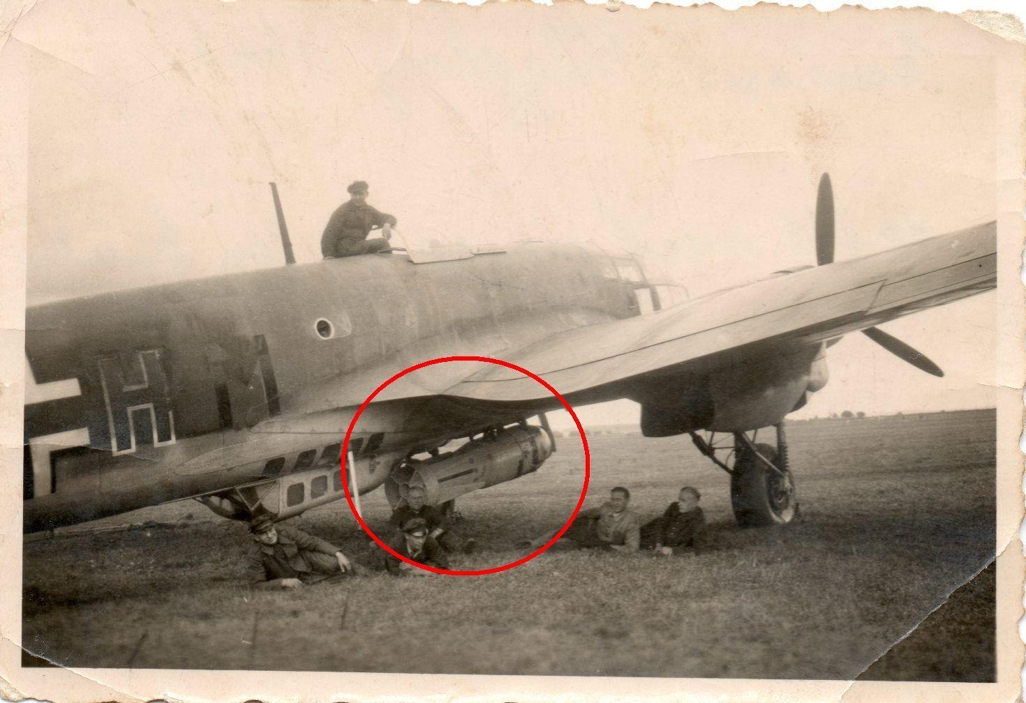 Heinkel 111 à Amiens en 1940