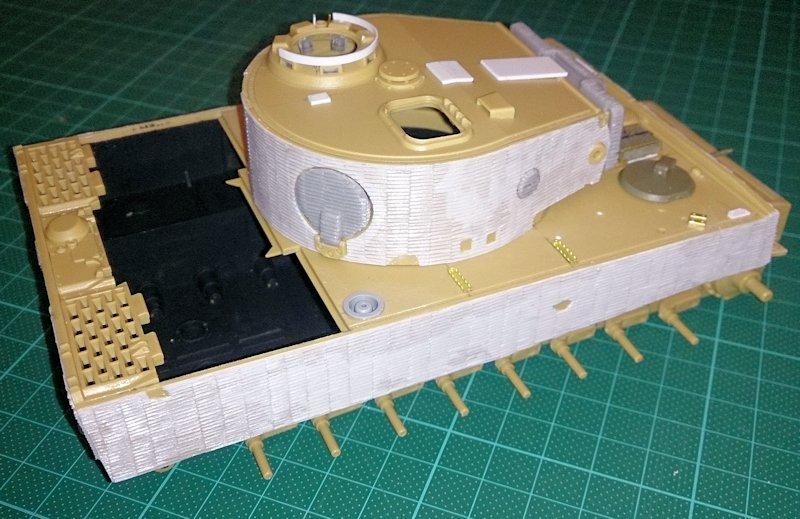 Tigre Tracteur (Conversion perso sur base ACADEMY) 1/35 17011210320214106614769113