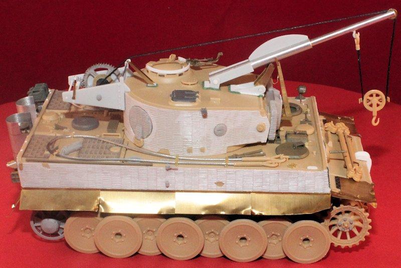 Tigre Tracteur (Conversion perso sur base ACADEMY) 1/35 17011210323714106614769125