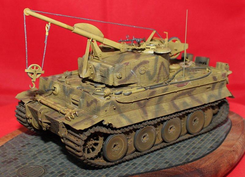 Tigre Tracteur (Conversion perso sur base ACADEMY) 1/35 17011210391714106614769135