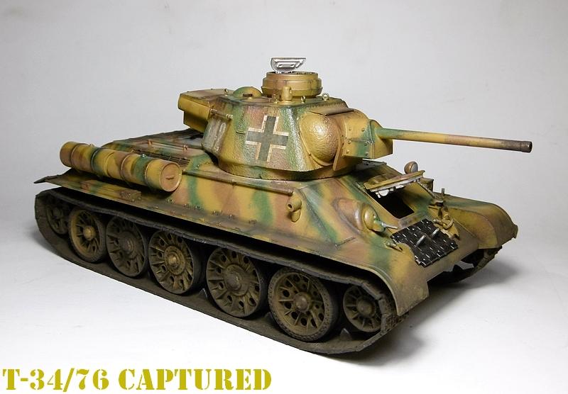 [ ACADEMY 1/35 ] T-34/76 CAPTURE PAR LES ALLEMANDS 17011307474021038614770870