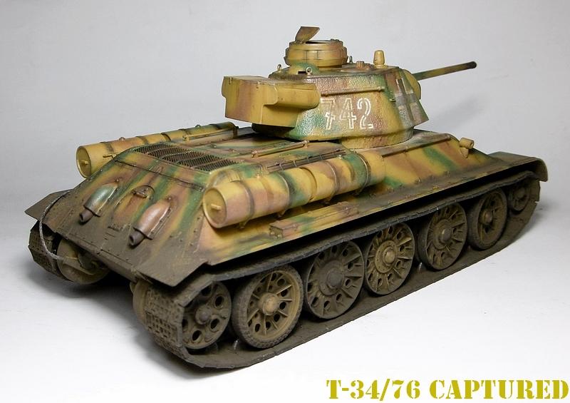 [ ACADEMY 1/35 ] T-34/76 CAPTURE PAR LES ALLEMANDS 17011307474921038614770871