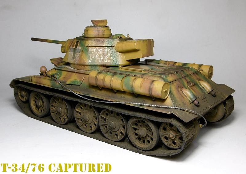 [ ACADEMY 1/35 ] T-34/76 CAPTURE PAR LES ALLEMANDS 17011307475421038614770872