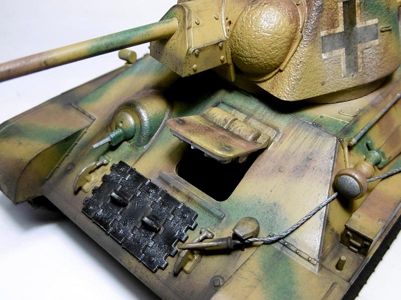 [ ACADEMY 1/35 ] T-34/76 CAPTURE PAR LES ALLEMANDS 17011307475921038614770873