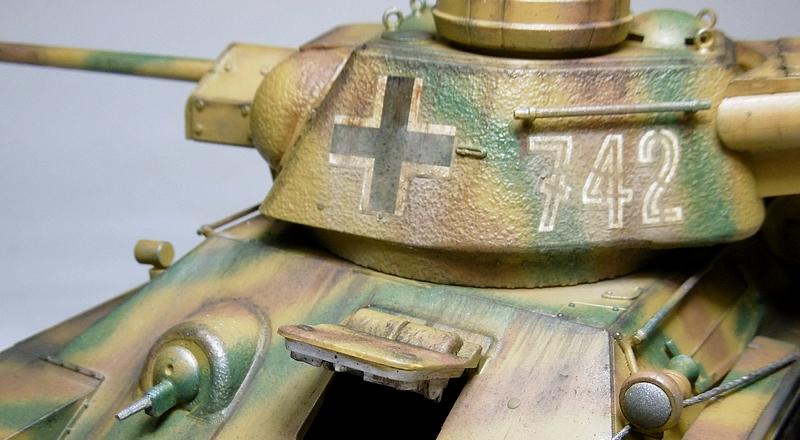 [ ACADEMY 1/35 ] T-34/76 CAPTURE PAR LES ALLEMANDS 17011307480821038614770875