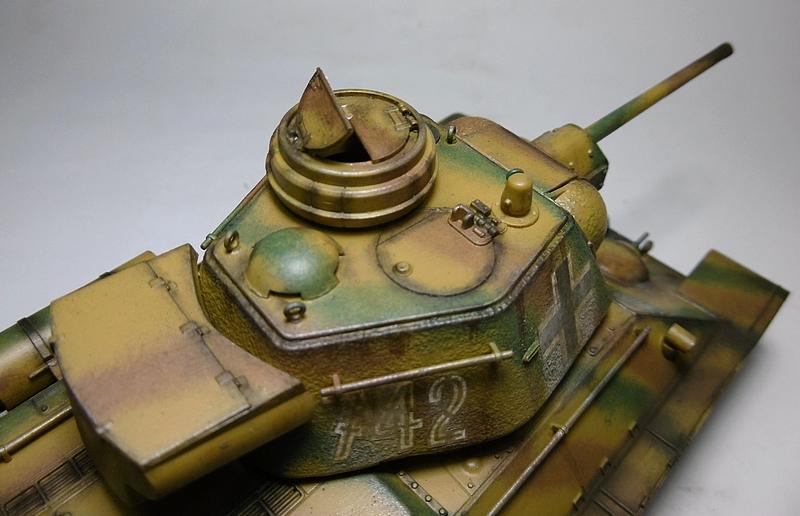 [ ACADEMY 1/35 ] T-34/76 CAPTURE PAR LES ALLEMANDS 17011307482021038614770878