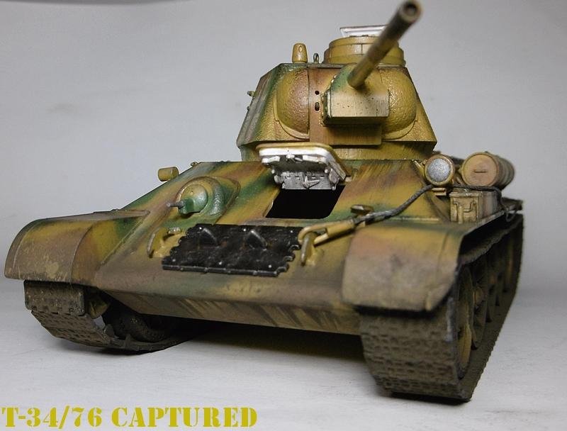 [ ACADEMY 1/35 ] T-34/76 CAPTURE PAR LES ALLEMANDS 17011307482421038614770881