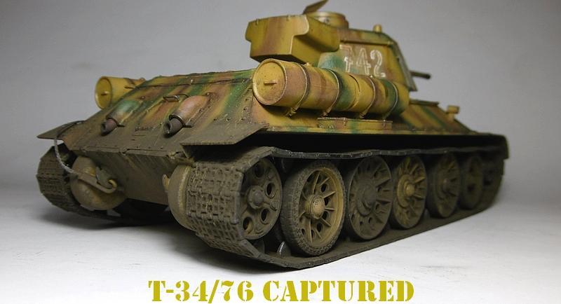 [ ACADEMY 1/35 ] T-34/76 CAPTURE PAR LES ALLEMANDS 17011307482821038614770884